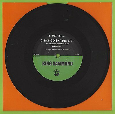 "King Hammond - Mr. Dj / Bongo Ska Fever 7"" Single E.p. - N1 Ep002"