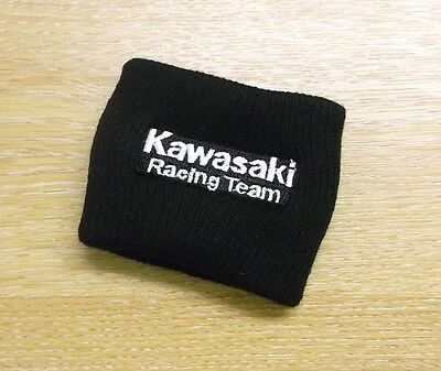 Genuine Kawasaki SBK/Ninja Replica black wrist band 186KRM0003