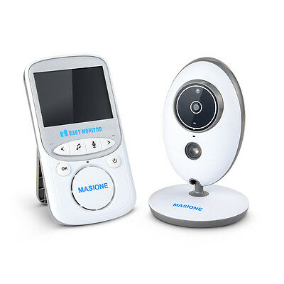 2.4GHz Wireless Digital LCD Baby Monitor Two Way Audio Night Vision Long Range