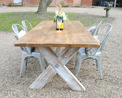 Pine Rustic Reclaim Hand Made Dining Table