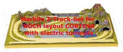 Marklin Z Track-Set Electric for NOCH Z Scale Layout Cortina 85880 - ALL NEW !!!