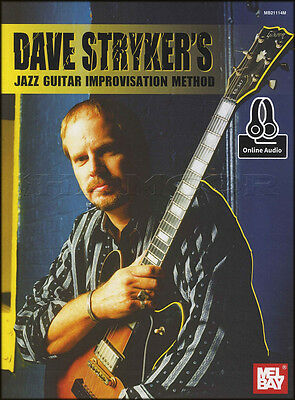 Dave Stryker's Jazz Guitar Improvisation Method Tab Music Book with Audio