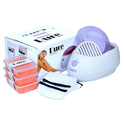 Pure Paraffin Wax Heater Spa Bath Peach Kit