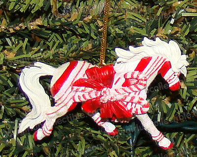 CANDY CANE LANE (Horse of a Different Color by Westland, 20643) Arabian Ornament