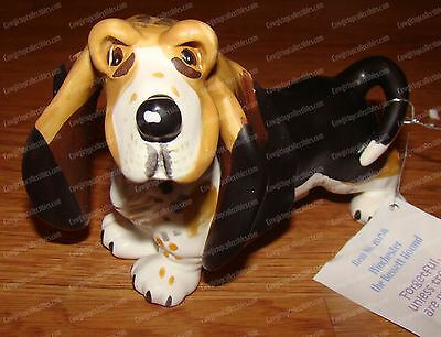 WINCHESTER the Bassett Hound (Top Dog by Westland Giftware, 20258) Ceramic