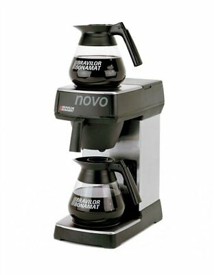 Bravilor Novo freestanding Drip coffee maker 1.7L Black,Silver - coffee (s8f)