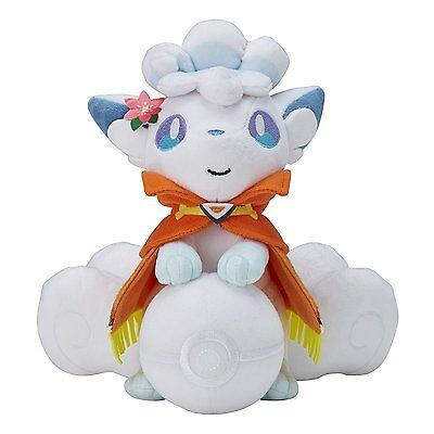 Pokemon Go Snowball Vulpix Plush Soft Teddy Stuffed Dolls Kids Toy 30CM/12""