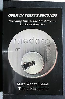 MEDECO: Open in 30 Seconds for Locksmith or Lock picking challenge Free Shipping