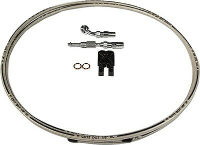 Build Your Own Braided Stainl. DOT Hydraulic Clutch Line Kit 10mm Magnum 391235A