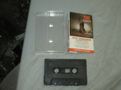 Ozzy Osbourne - Blizzard of Ozz (Cassette, Tape) WORKING Great tested 2
