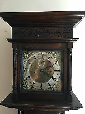 Antique Georgian Carved Longcase Grandfather Clock
