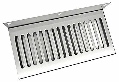 Bev Rite Wall Mount Beer Drip Tray, Stainless Steel, 14 x 6""