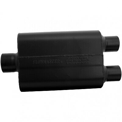 "Flowmaster 9430452 Super 44 Muffler 3"" Center Inlet/2.5"" Dual Outlet"