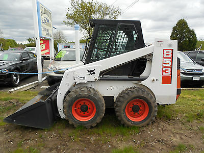 1997 Bobcat 853 Diesel engine skid steer 2375 Hrs works great