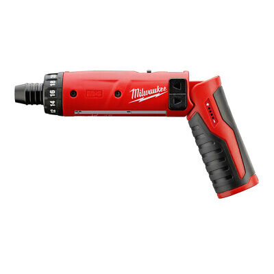 "Milwaukee 4V M4 Li-Ion 1/4"" Hex Screwdriver (Bare Tool) 2101-22 New"