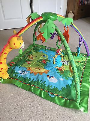 Fisher Price Musical Jungle Gym Rain Forest Play Mat