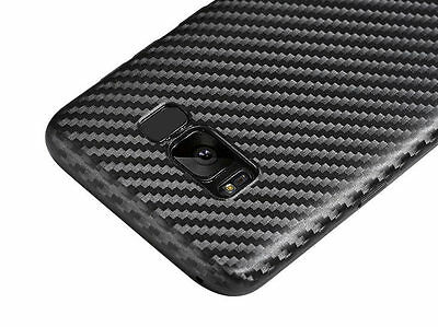 Case for Samsung Galaxy S8 Shockproof Carbon TPU Ultra Thin Slim Cover