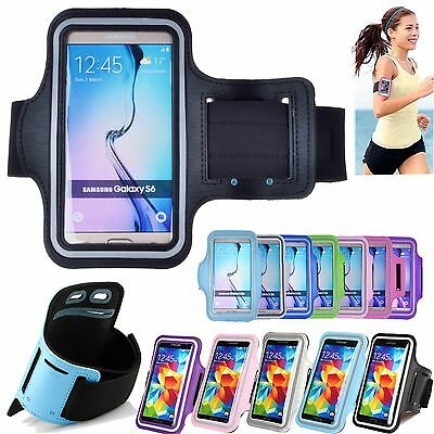 Running Sports Armband Case Cover for Samsung Galaxy S7 edge S8 Plus S6 J7 J5 A8