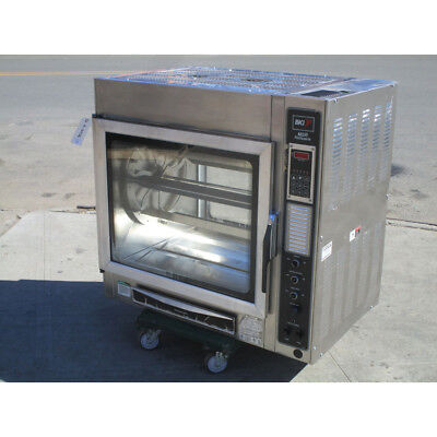 BKI Electric Rotisserie Oven Model MSR, Very Good Condition