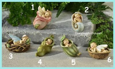 Birds in Harmony on Garden Leaf Miniature Garden Figure NEW tlmg 4156