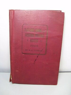 Red Book of U.S. Coins (1949 Third Edition) book. By R.S. Yeoman.