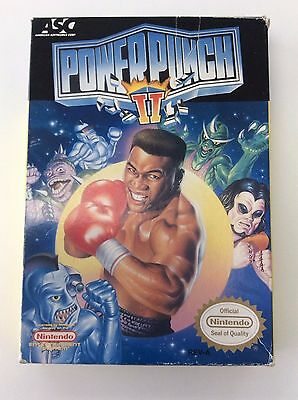 Power Punch II Nintendo BOX ONLY - NES -