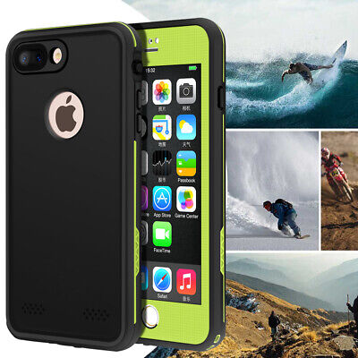 Waterproof Shockproof Snow Dirt Proof Heavy Armor Cover Case For iPhone 7 8 Plus