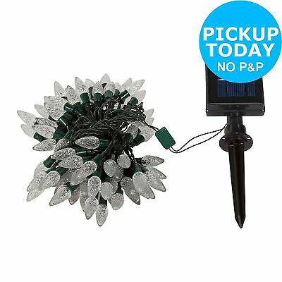 HOME White Solar String Lights - Set of 100.From the Official Argos Shop on ebay