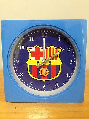 FC Barcelona Barca Soccer Football Club Clock Merchandise