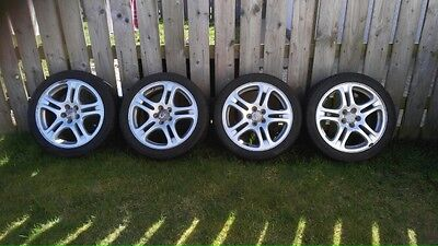 "Subaru Impreza Classic / Newage 17"" Alloy wheels and tyres"