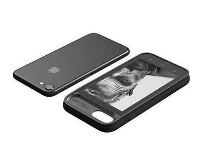 """Oaxis Inkcase i7 4.3"""" E-Ink eReader Bluetooth 2nd Screen Case iPhone 7 Drop resi"""