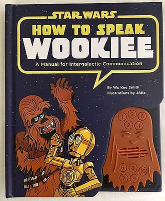 Star Wars How To Speak Wookie Book with Soundbox | Chewbacca Han Solo FREE POST