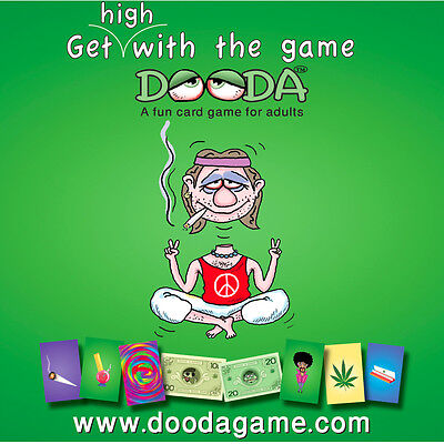 Dooda™ A fun card game for adults and cannabis lovers.