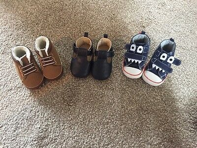 Boys Baby Shoes Size 6-9 Months