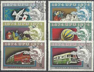 Timbres Transports Hongrie 2365/70 o lot 2286