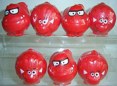 7 x Dinosaur Red Nose Day Comic Relief 2013 noses All sealed New T-Spex etc