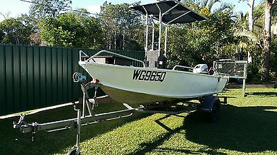 centre console boat, T Top, 4.7mtr, mariner outboard, boat, fishing boat, tinny