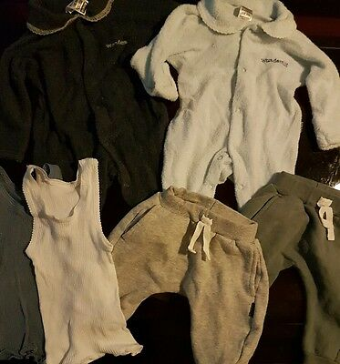 Bulk Lot Bonds Baby Boy Clothing Wondersuits Singlets Pants Size 000