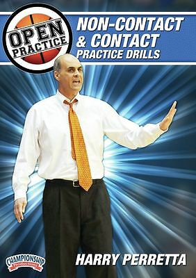 Open Practice: Non-Contact and Contact Practice Drills with Harry Perretta