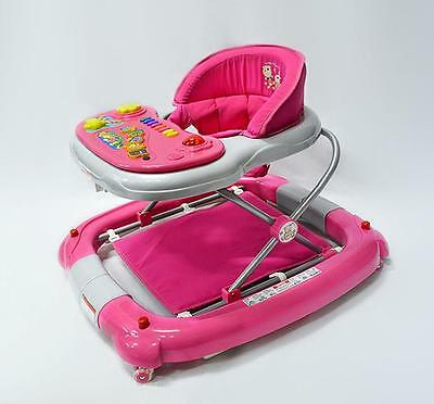 Br New Sturdy Piano Baby Walker Rocker 4in1 Toys Musical Play Centre Great Gifts