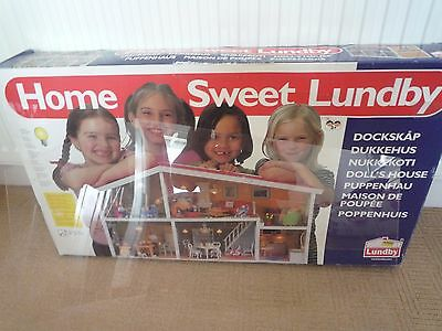 Vintage Lundby Home Sweet Home Rare Barton Model Chalet Style Home / Dolls House