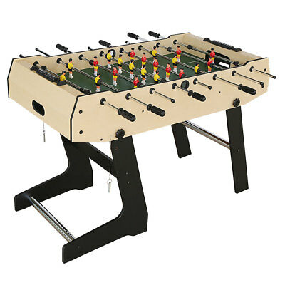 4ft Foldable Soccer Table Foosball Table Football Kids Indoor Game Practice Toy