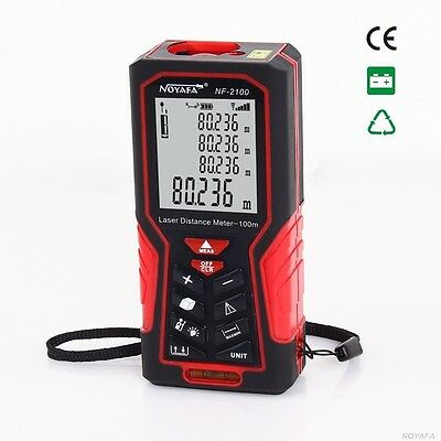 Handheld Digital Laser Point Distance Meter Measure Tape Range Finder 40/70/100m