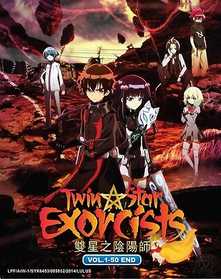 DVD Anime Twin Star Exorcists Sousei no Onmyouji Complete Series (1-50) Eng Sub