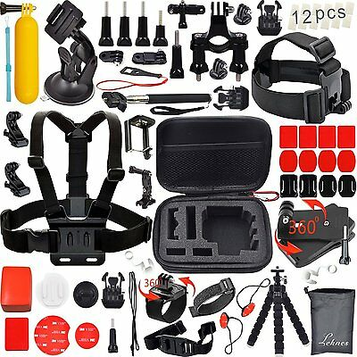 31 in 1 Accessories Kit for GoPro Hero 5 4 3 2 1 Action Cameras Shockproof Case