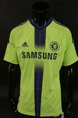 The Blues 2010-2011 adidas Chelsea FC Away Football Shirt SIZE M (adults)