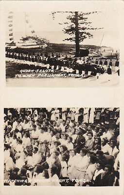 RP Queen Salote Opens Parliament , Tonga, 1910s