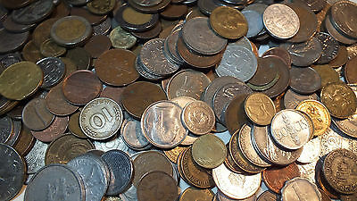 10 Pound Lot Bulk Mix World Foreign Poundage Collection Coins LB