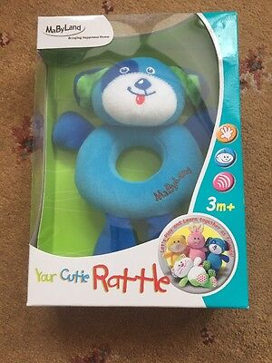 MaByLand Your Cutie Rattle Doggy *BNIB* Baby