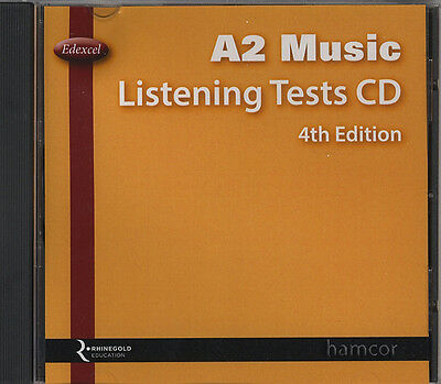 Edexcel A2 Music Listening Tests CD 4th Edition